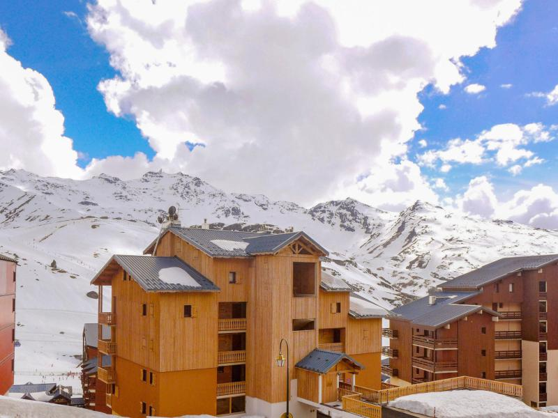 Holiday in mountain resort 1 room apartment 2 people (3) - Les Cîmes de Caron - Val Thorens - Winter outside