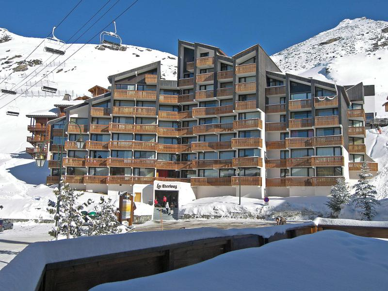 Holiday in mountain resort 1 room apartment 4 people (1) - Les Eterlous - Val Thorens - Winter outside