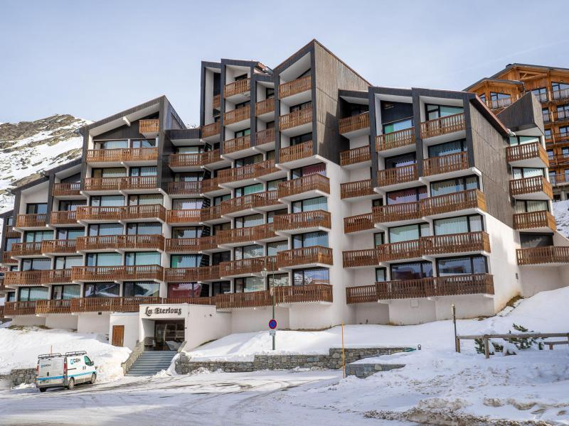 Location au ski Appartement 1 pièces 4 personnes (1) - Les Eterlous - Val Thorens - Extérieur hiver