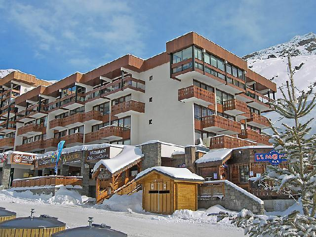 Holiday in mountain resort 1 room apartment 4 people (1) - Les Glaciers - Val Thorens - Winter outside