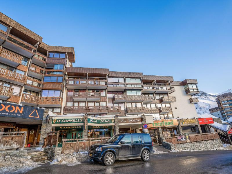 Rent in ski resort 1 room apartment 4 people (1) - Les Glaciers - Val Thorens - Winter outside