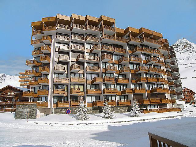 Holiday in mountain resort 2 room apartment 6 people (2) - Les Hauts de Chavière - Val Thorens - Winter outside