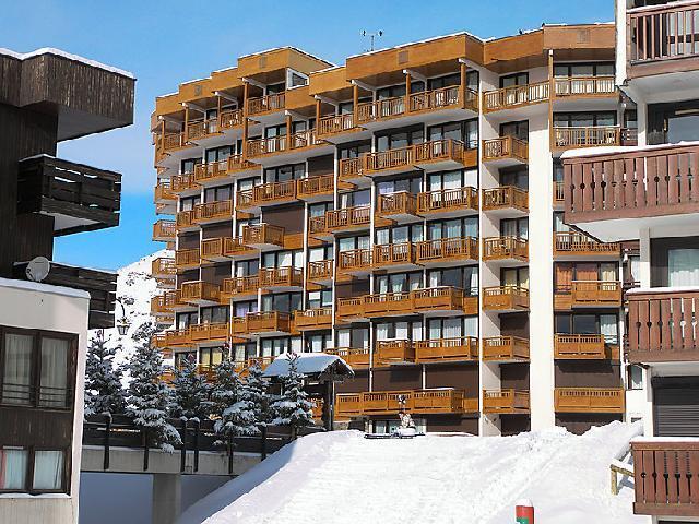 Vakantie in de bergen Appartement 2 kamers 6 personen (2) - Les Hauts de Chavière - Val Thorens - Buiten winter