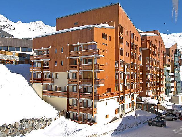 Location au ski Appartement 1 pièces 4 personnes (3) - Les Lauzières - Val Thorens - Extérieur hiver