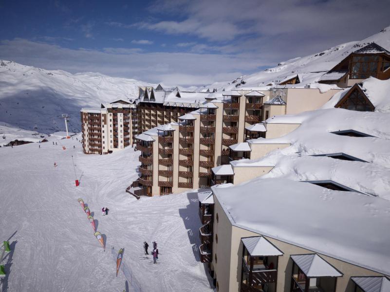Wynajem na narty Les Temples du Soleil Cuzco - Val Thorens - Zima na zewnątrz