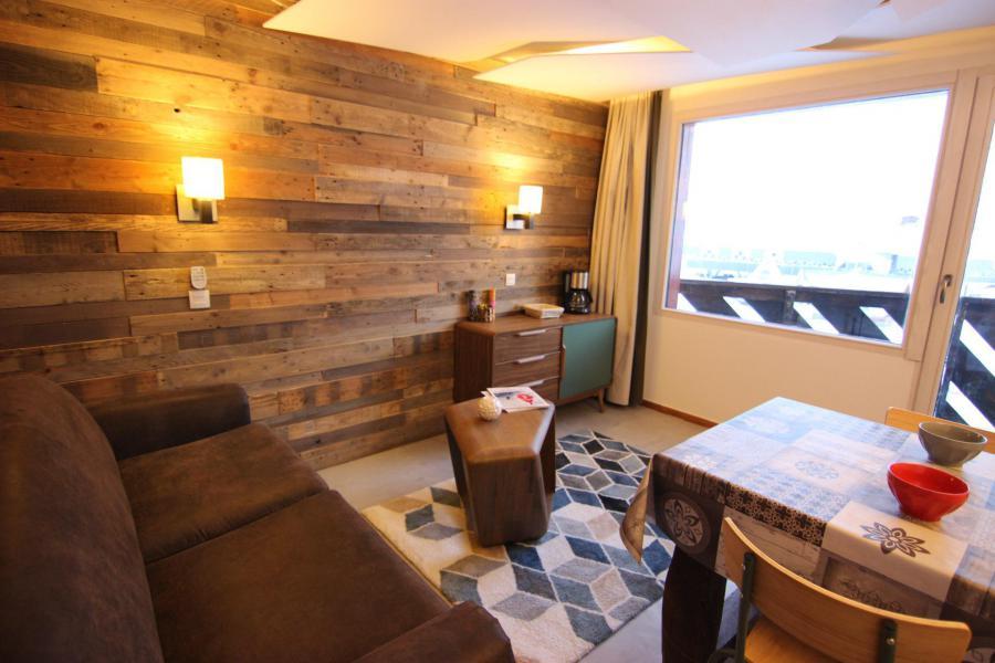 Location au ski Studio cabine 4 personnes (12H) - Les Temples du Soleil Cuzco - Val Thorens - Séjour