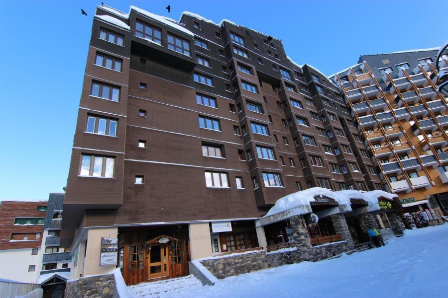 Location au ski Résidence Arcelle - Val Thorens - Extérieur hiver