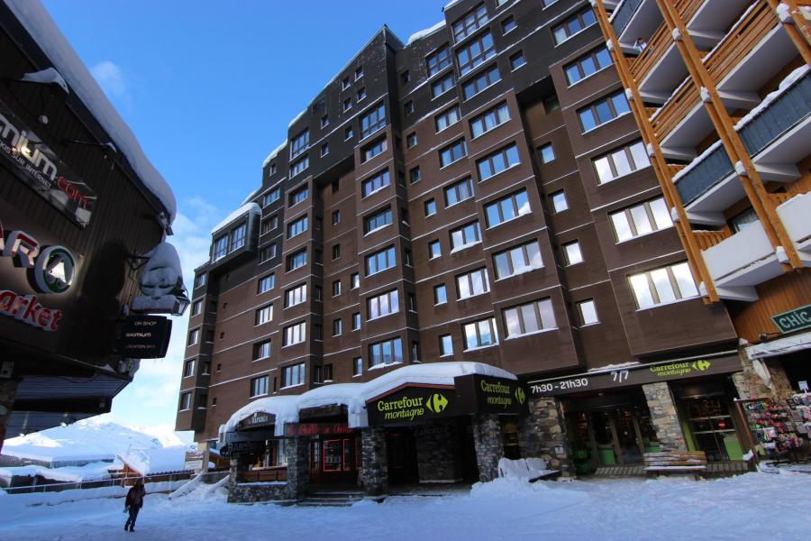 Vakantie in de bergen Résidence Arcelle - Val Thorens - Buiten winter