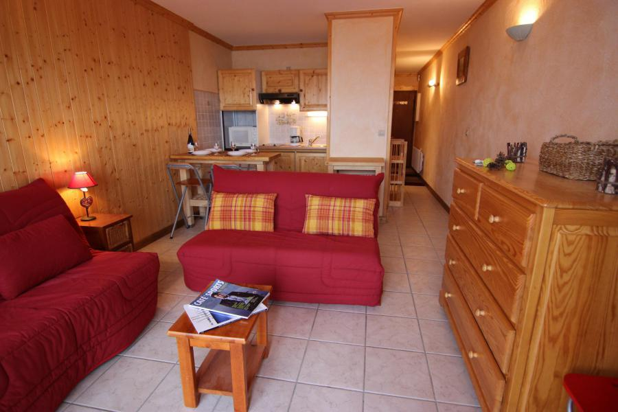 Location au ski Appartement 2 pièces 4 personnes (4) - Résidence Beau Soleil - Val Thorens - Séjour