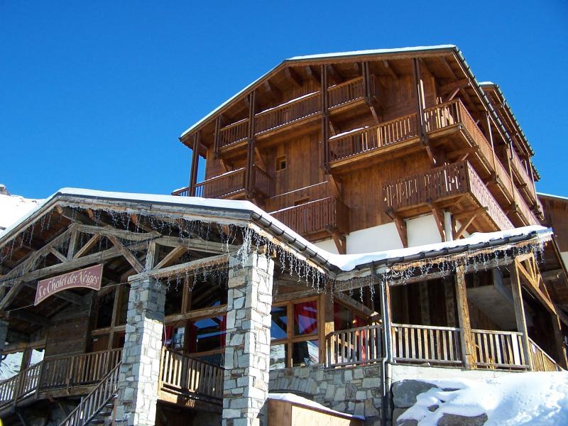 Urlaub in den Bergen Résidence Chalet des Neiges Hermine - Val Thorens - Draußen im Winter