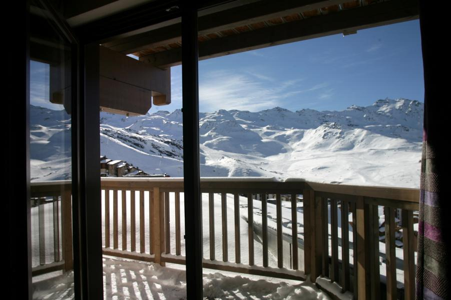 Urlaub in den Bergen Résidence Chalet des Neiges Koh-I Nor - Val Thorens - Draußen im Winter