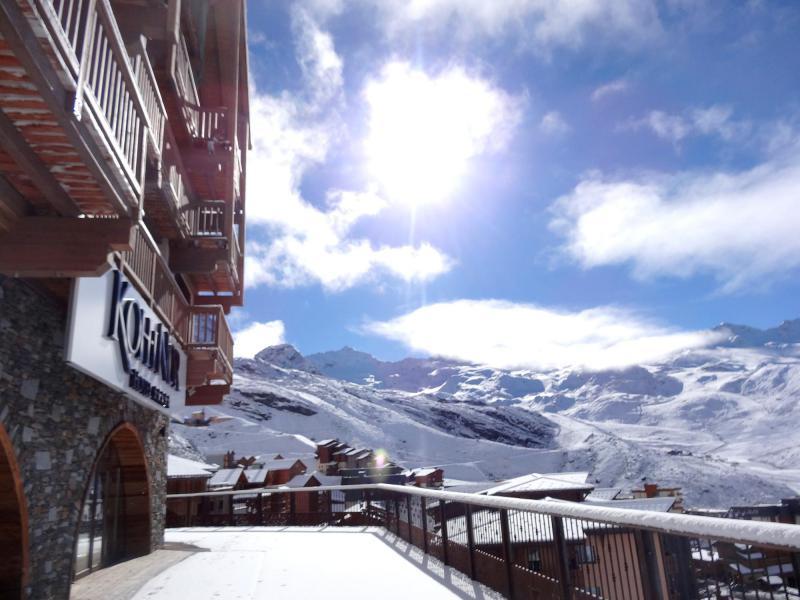 Location au ski Résidence Chalet des Neiges Koh-I Nor - Val Thorens - Extérieur hiver