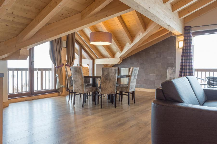Wynajem na narty Apartament 5 pokojowy 8 osób (Ekskluzywny) - Résidence Chalet des Neiges Koh-I Nor - Val Thorens - Apartament