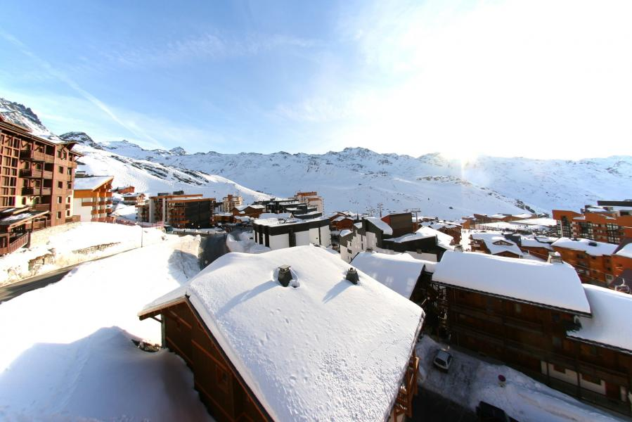 Holiday in mountain resort Résidence Chalet des Neiges Plein Sud - Val Thorens - Winter outside