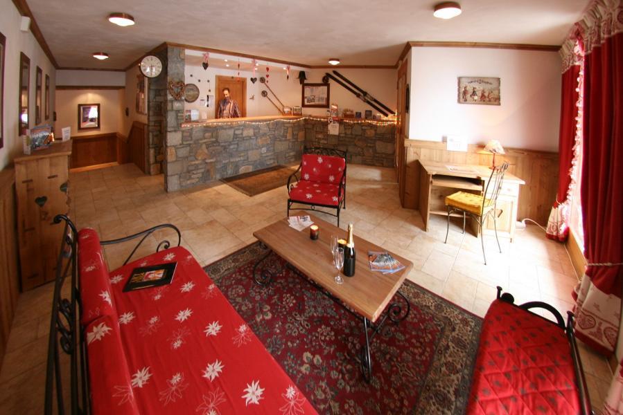 Alquiler al esquí Résidence Chalet des Neiges Plein Sud - Val Thorens - Recepción