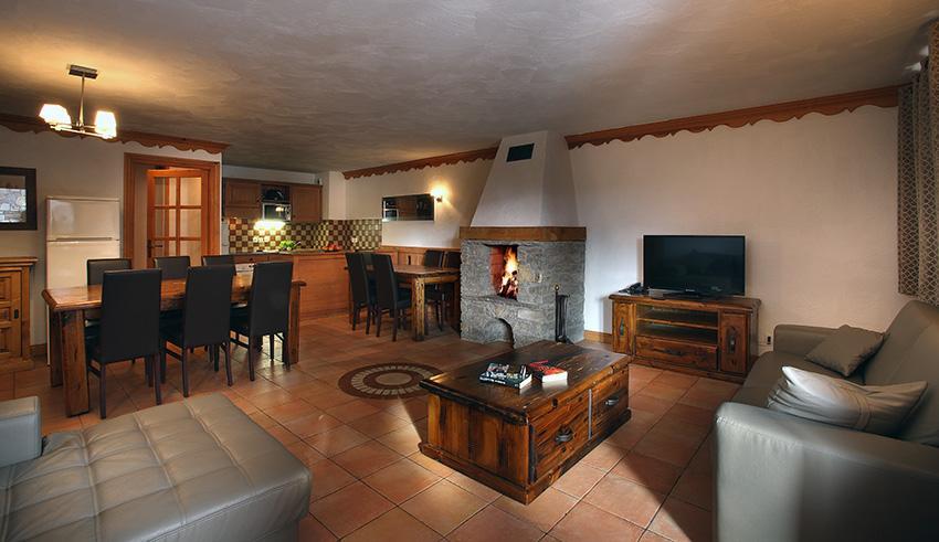 Wynajem na narty Résidence Chalet des Neiges Plein Sud - Val Thorens - Pokój gościnny