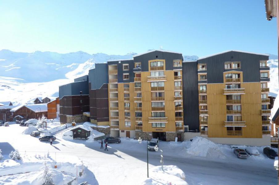 Location au ski Studio cabine 4 personnes (2100) - Résidence Cimes de Caron - Val Thorens