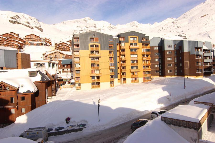 Location au ski Résidence Cimes de Caron - Val Thorens - Extérieur hiver