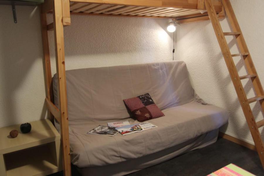 Location au ski Studio 2 personnes (2703) - Résidence Cimes de Caron - Val Thorens - Lit mezzanine simple