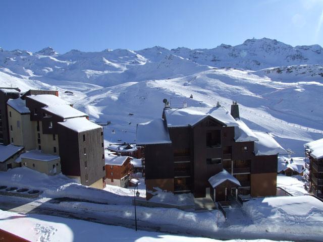 Location au ski Studio 3 personnes (2106) - Résidence Cimes de Caron - Val Thorens - Kitchenette
