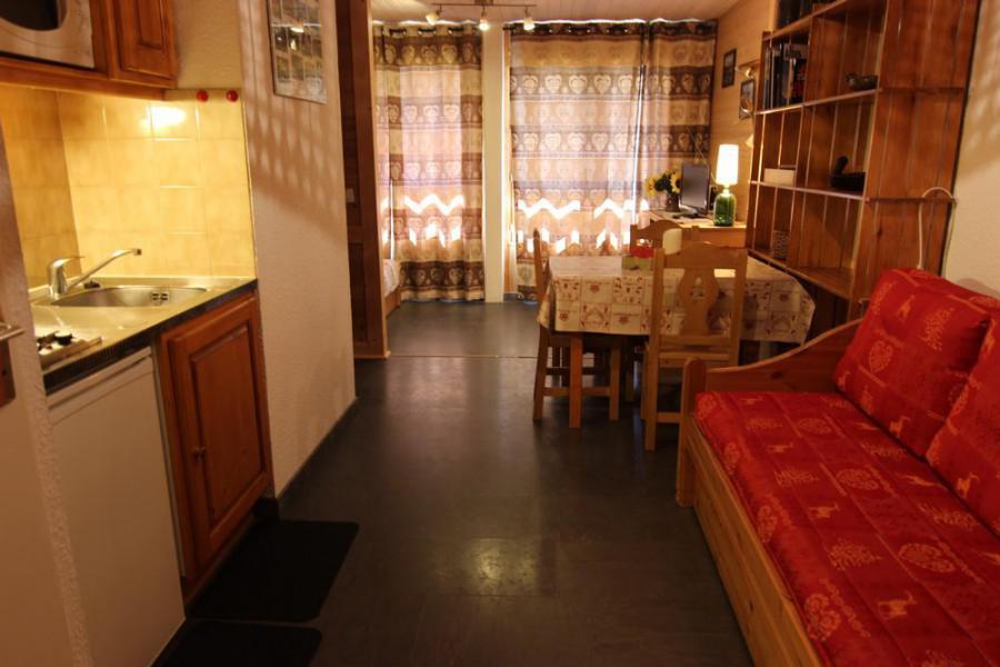 Location au ski Studio 3 personnes (2106) - Résidence Cimes de Caron - Val Thorens - Salle de bains