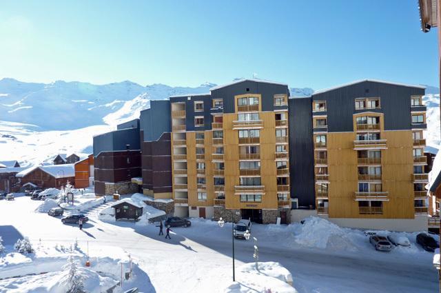 Location au ski Studio 3 personnes (2106) - Résidence Cimes de Caron - Val Thorens - Table