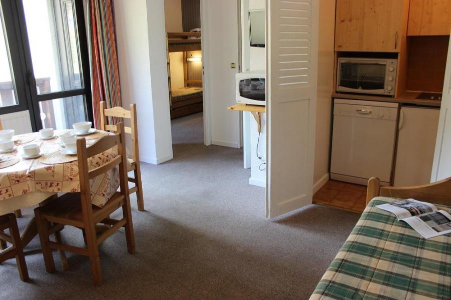 Skiverleih 2-Zimmer-Appartment für 4 Personen (518) - Résidence de l'Olympic - Val Thorens - Wohnzimmer