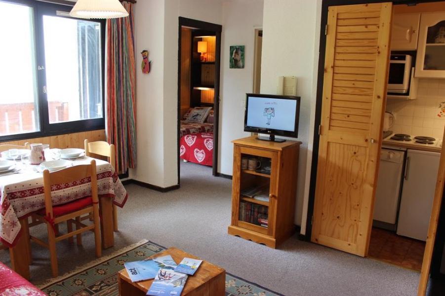 Skiverleih 2-Zimmer-Appartment für 4 Personen (611) - Résidence de l'Olympic - Val Thorens - Wohnzimmer