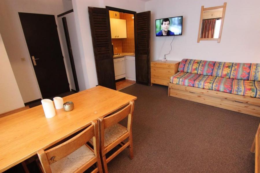 Skiverleih 2-Zimmer-Appartment für 4 Personen (818) - Résidence de l'Olympic - Val Thorens - Wohnzimmer