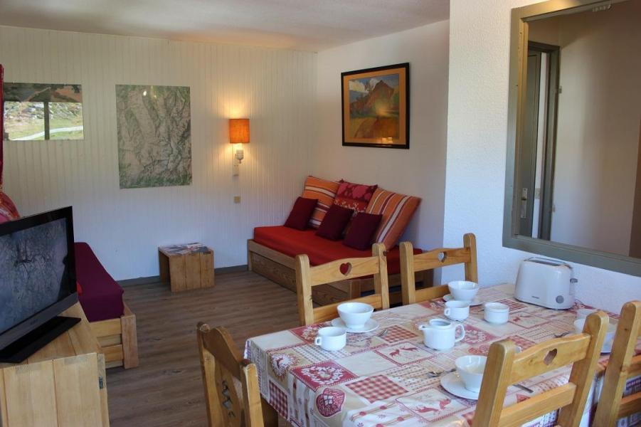 Skiverleih 2-Zimmer-Appartment für 5 Personen (401) - Résidence de l'Olympic - Val Thorens - Wohnzimmer