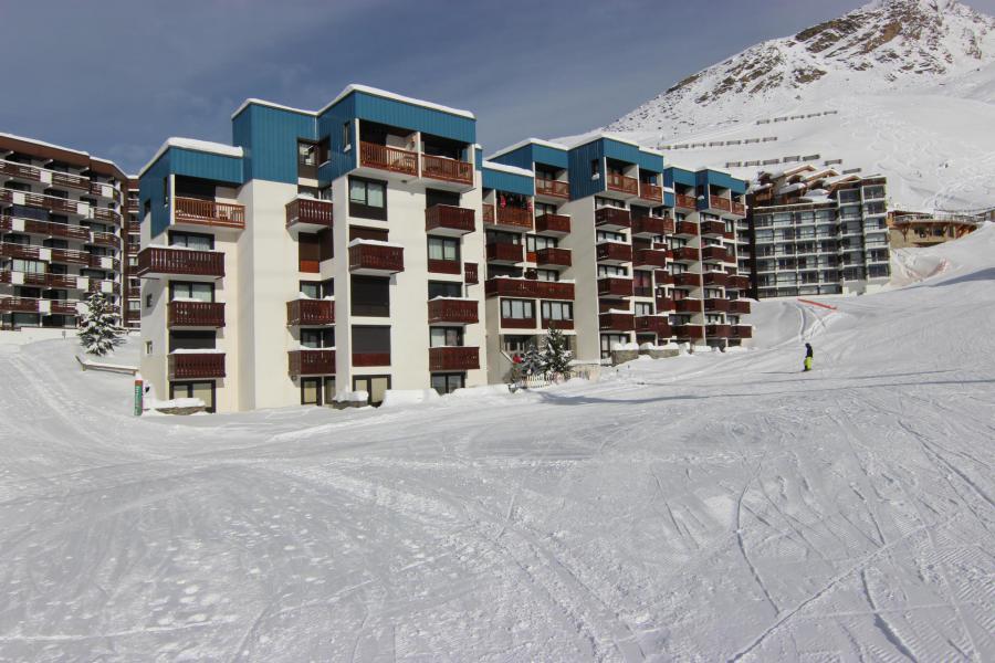 Skiverleih Résidence de l'Olympic - Val Thorens - Draußen im Winter