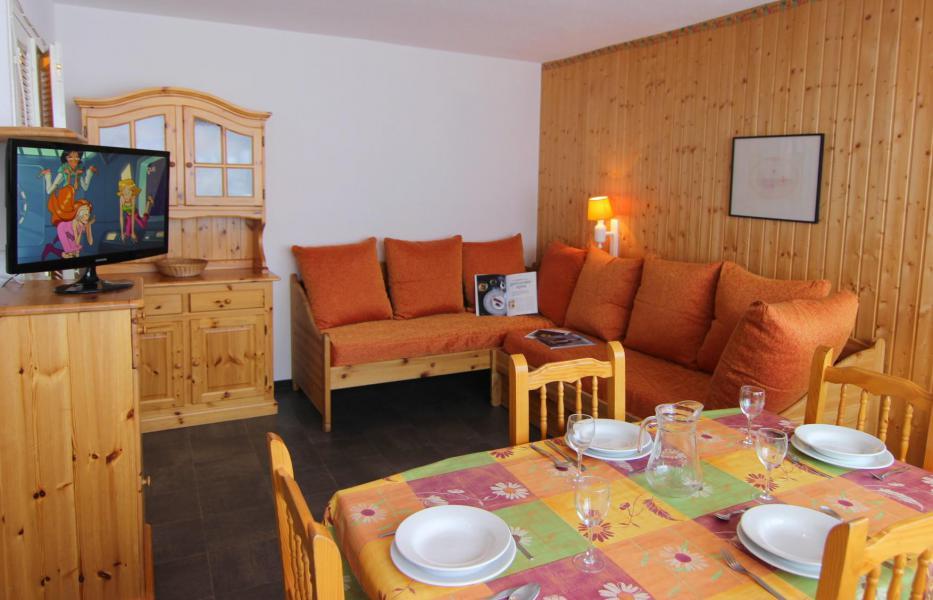 Location au ski Appartement 2 pièces 4 personnes (504) - Résidence de l'Olympic - Val Thorens - Coin repas