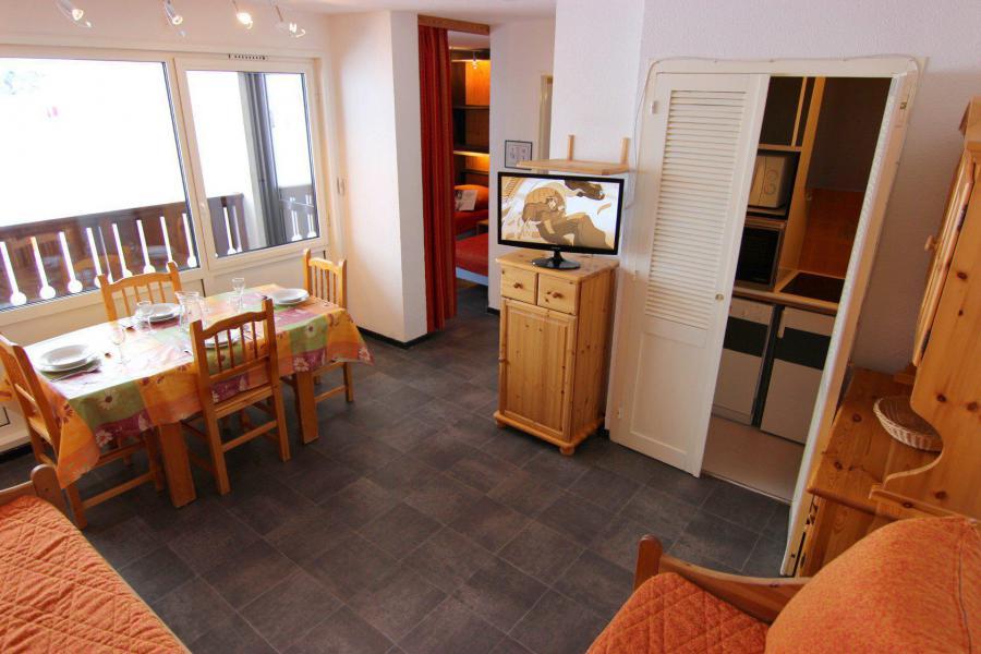 Location au ski Appartement 2 pièces 4 personnes (504) - Résidence de l'Olympic - Val Thorens - Séjour