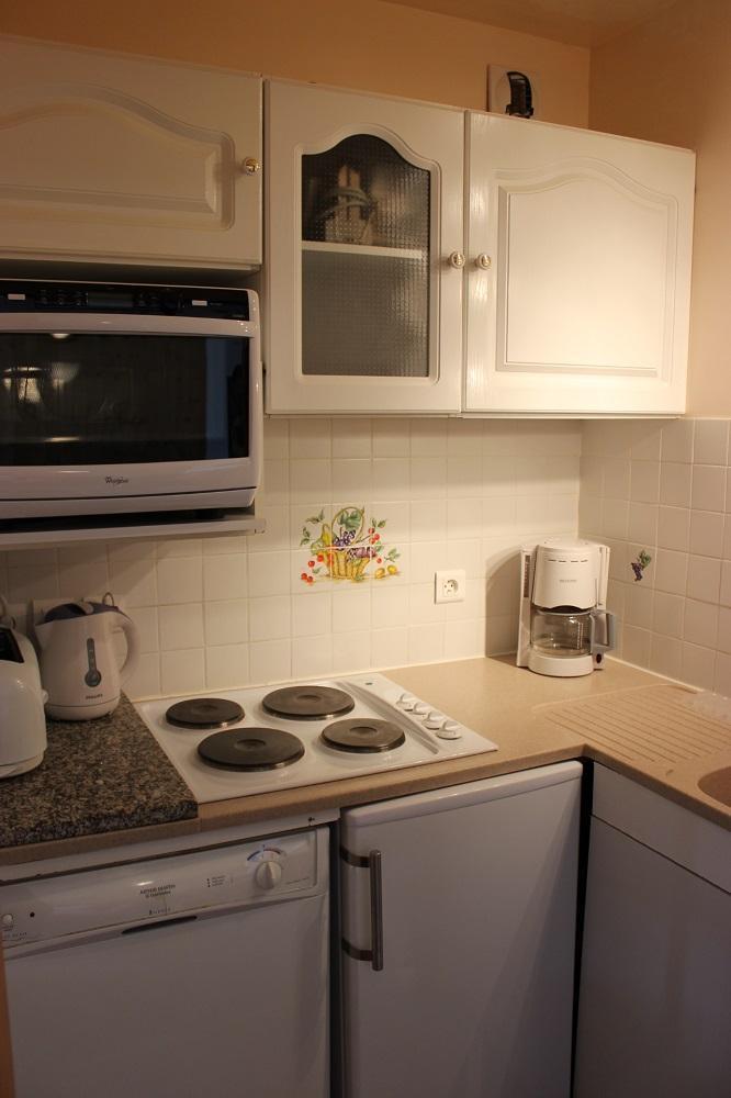 Location au ski Appartement 2 pièces 4 personnes (611) - Résidence de l'Olympic - Val Thorens - Kitchenette