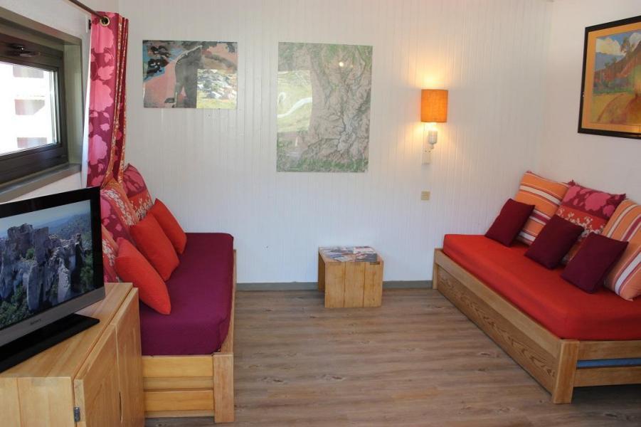 Location au ski Appartement 2 pièces 5 personnes (401) - Résidence de l'Olympic - Val Thorens - Canapé
