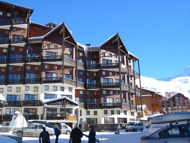 Vakantie in de bergen Résidence du Silveralp - Val Thorens - Buiten winter