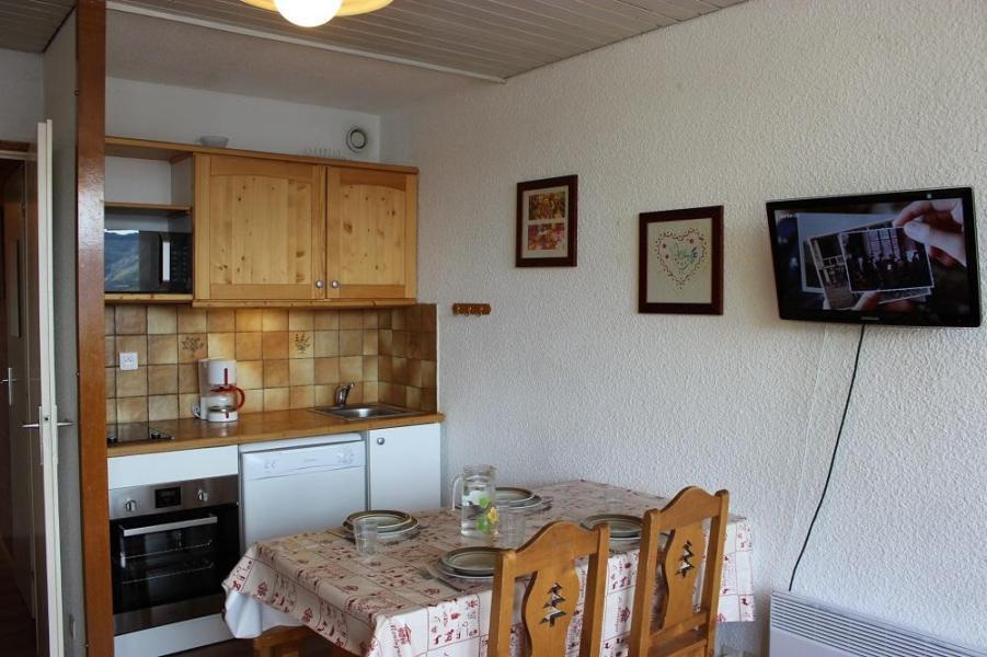 Location au ski Studio cabine 4 personnes (42) - Résidence Eterlous - Val Thorens - Chambre