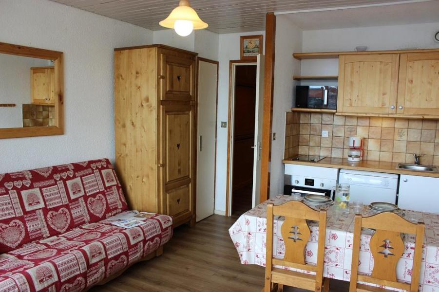 Location au ski Studio cabine 4 personnes (42) - Résidence Eterlous - Val Thorens - Salle à manger