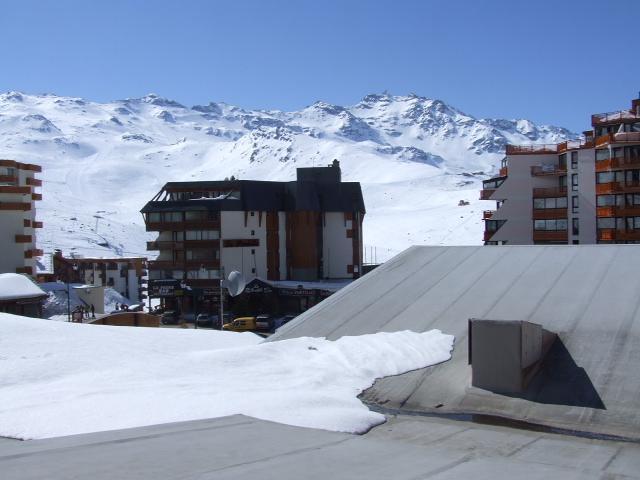 Location au ski Appartement 4 pièces 6 personnes (1) - Résidence Galerie de Peclet - Val Thorens - Extérieur hiver