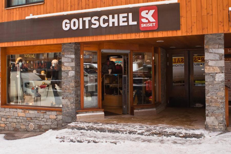 Vacances en montagne Résidence Galerie de Peclet - Val Thorens - Extérieur hiver