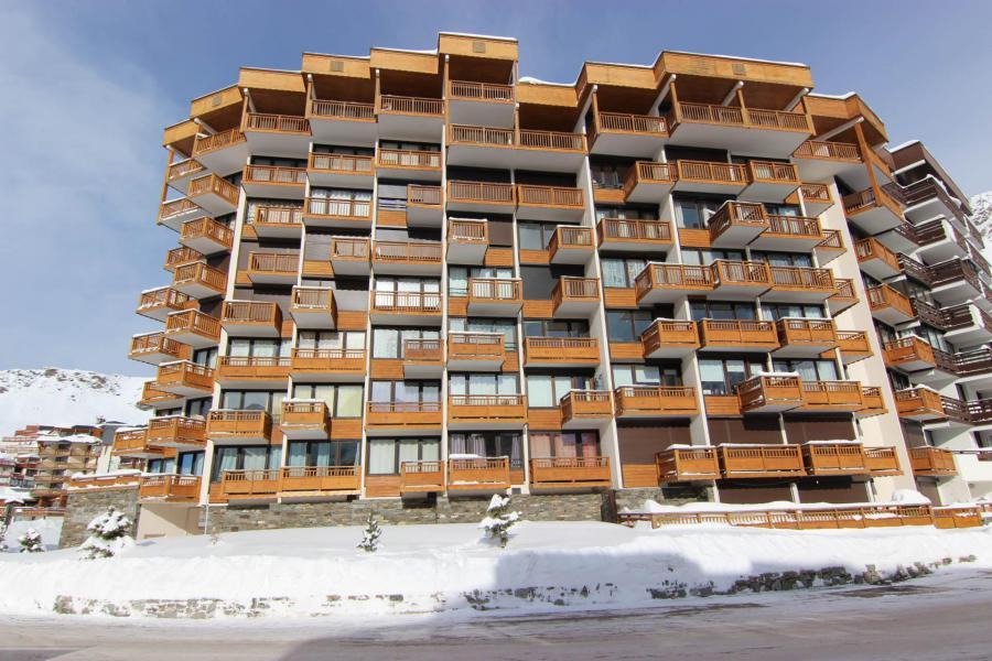 Location au ski Résidence Hauts de Chavière - Val Thorens - Extérieur hiver