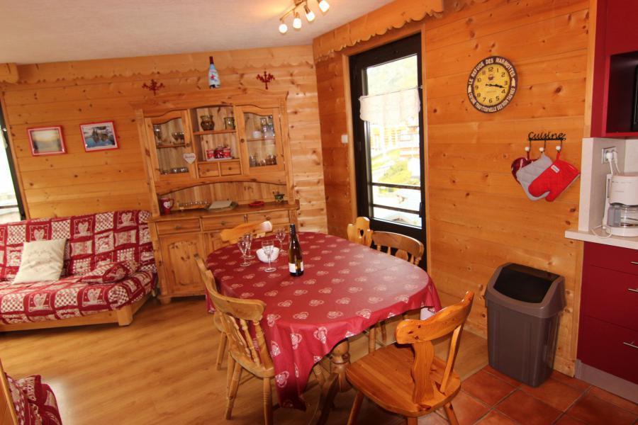 Location au ski Appartement 3 pièces 6 personnes (12) - Résidence Hauts de Chavière - Val Thorens - Table