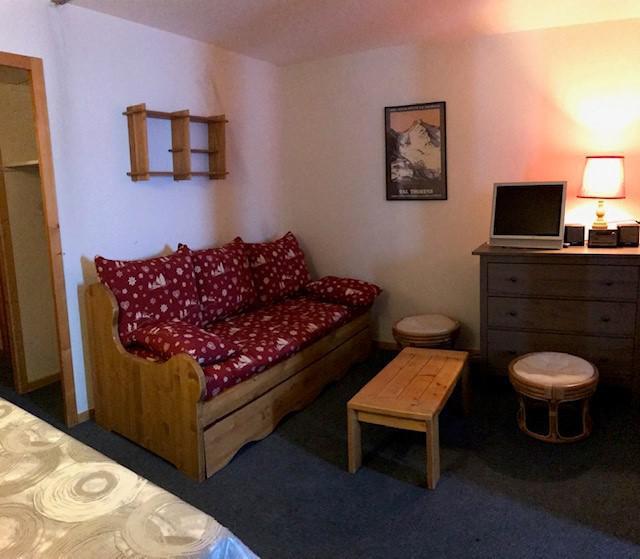 Location au ski Appartement 2 pièces 4 personnes (412) - Résidence l'Eskival - Val Thorens