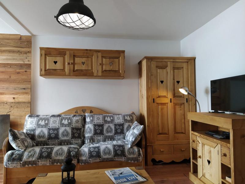 Location au ski Appartement 2 pièces 4 personnes (509) - Résidence l'Eskival - Val Thorens - Banquette-lit