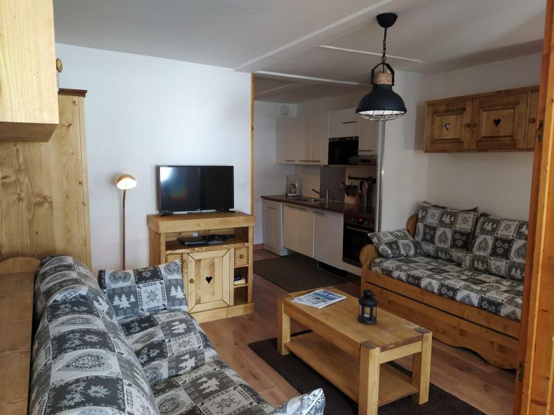 Location au ski Appartement 2 pièces 4 personnes (509) - Résidence l'Eskival - Val Thorens - Séjour