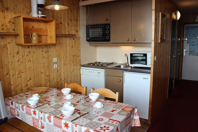 Location au ski Appartement 2 pièces 4 personnes (44) - Résidence l'Orsière - Val Thorens - Coin repas