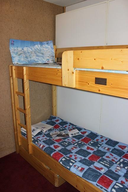 Location au ski Appartement 2 pièces 4 personnes (44) - Résidence l'Orsière - Val Thorens - Lits superposés