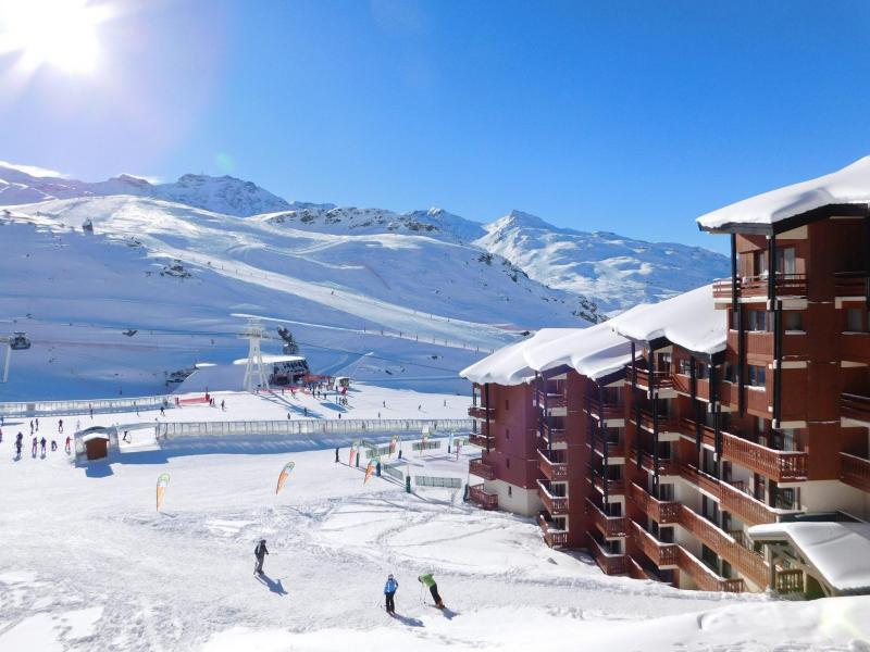 Аренда на лыжном курорте Résidence le Cheval Blanc - Val Thorens - зимой под открытым небом