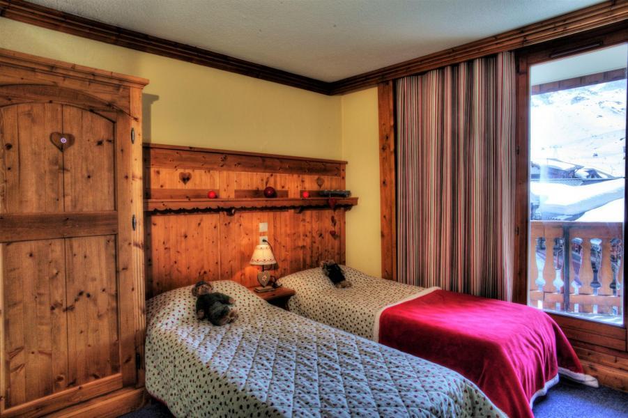 Skiverleih Résidence le Cheval Blanc - Val Thorens - Einzelbett