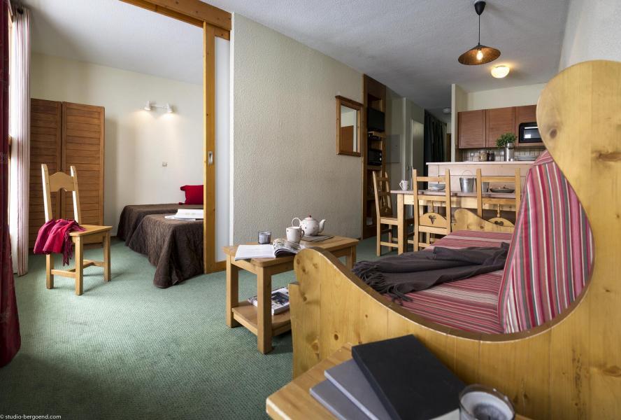 Аренда на лыжном курорте Résidence le Cheval Blanc - Val Thorens - Небольш&